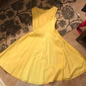Yellow M vintage dress